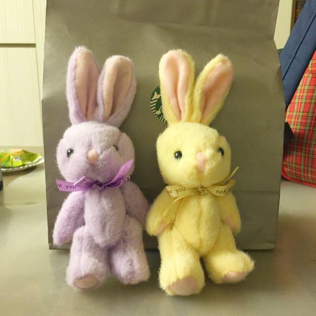 新-兔子小玩偶(2入)