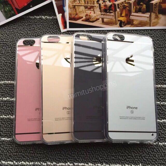 蘋果6s手機殼4.7玫瑰金iphone6 plus粉色軟殼5.5奢華防摔掛繩全包外殼四色 玫瑰金(偏粉)黑色 銀色 土豪金