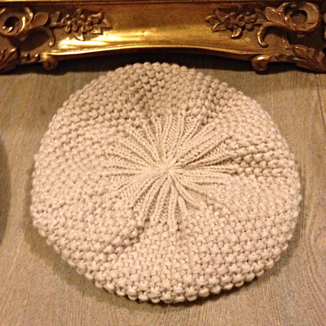 韓國製編織毛帽