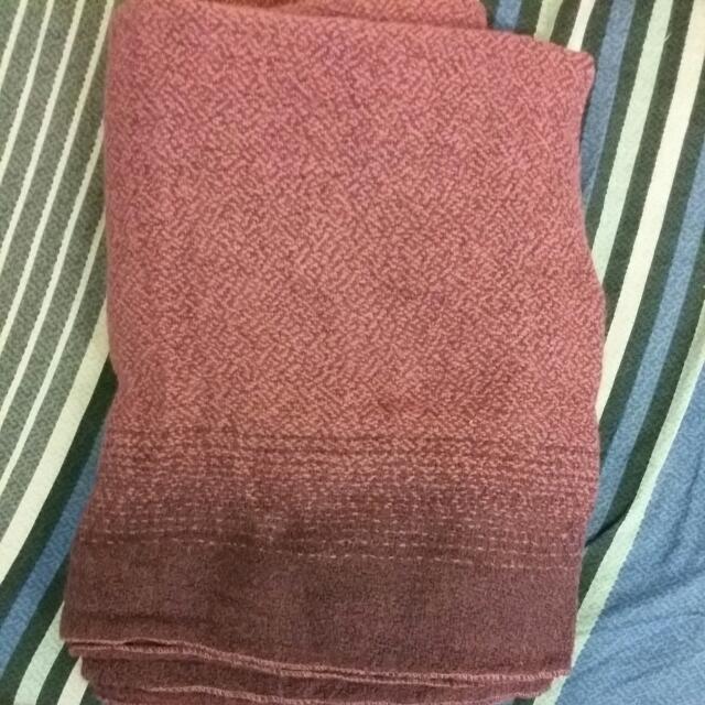 #運費我來出 紫色圍巾