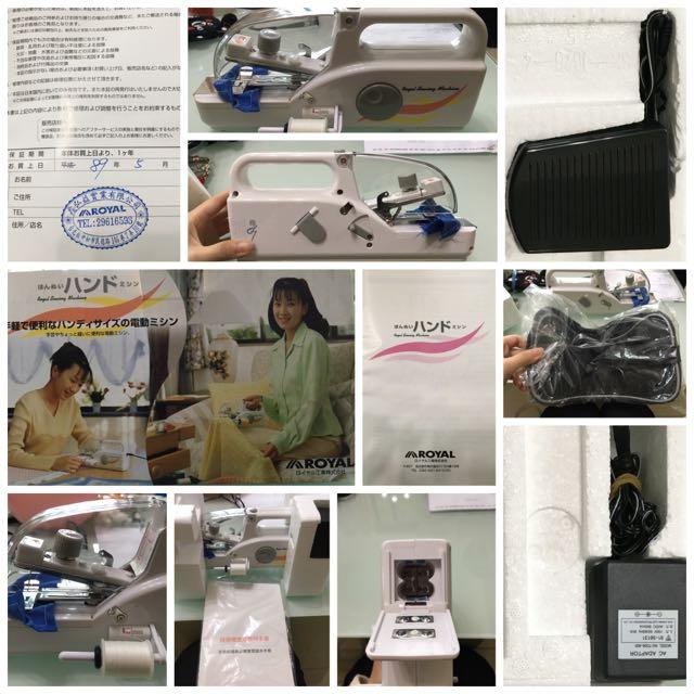 全新-迷你裁縫機