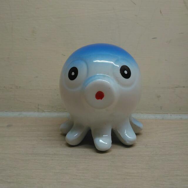 贈品 藍色章魚擺飾