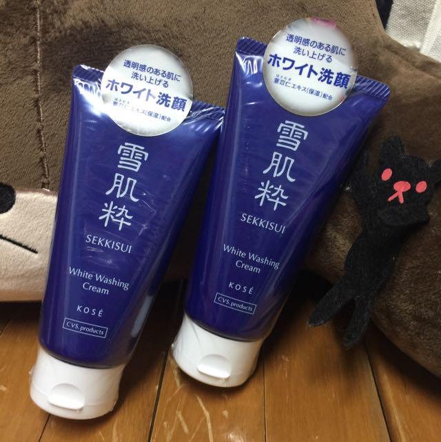 (待匯款)👍🏻 雪肌粹 日本限定版洗面乳