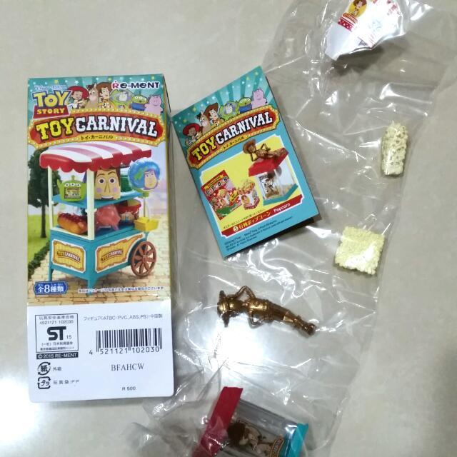 日本帶回 迪士尼 玩具總動員 胡迪 爆米花機