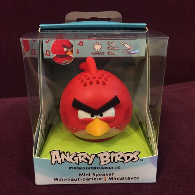 ✨含運✨憤怒鳥 Angry Birds Mini Speaker 喇叭