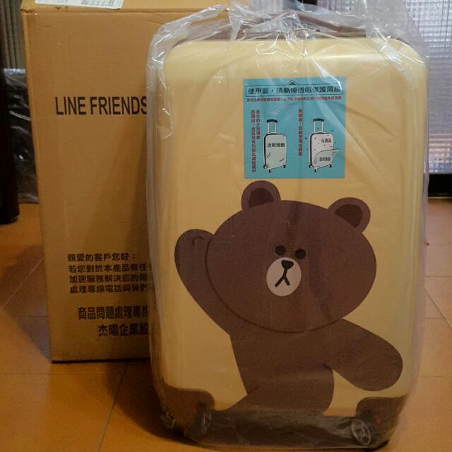 全新 Line 熊大 20吋 行李箱