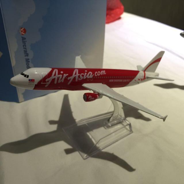 Air Asia  合金飛機模型