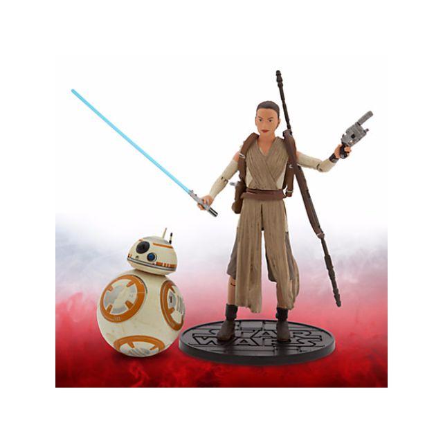 """星際大戰-雷伊和BB-8""""6''"""