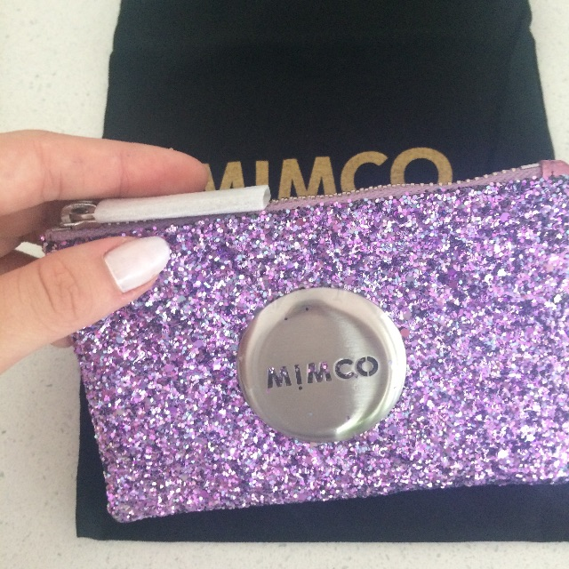how to get your inticals on mimco poch
