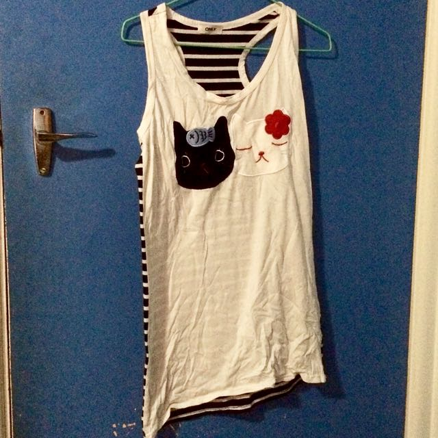 Cat Singlet Top