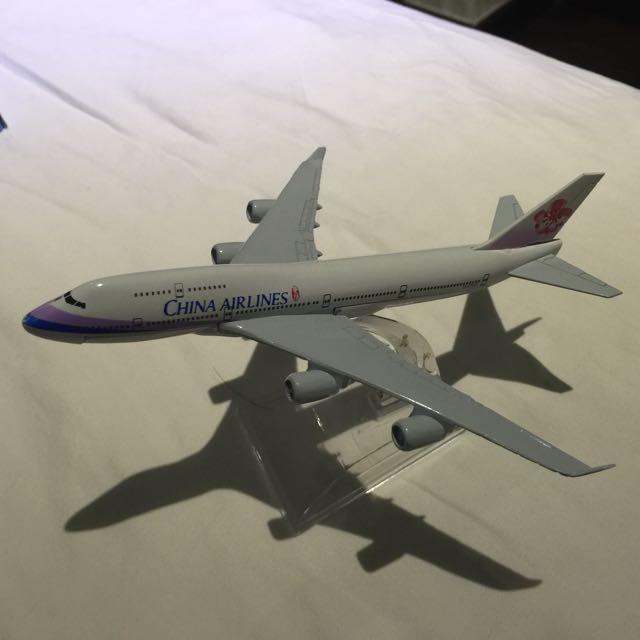 China Airline 中華航空  合金飛機模型