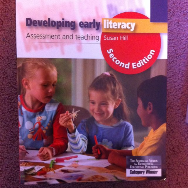 Developing Early Literacy Textbook
