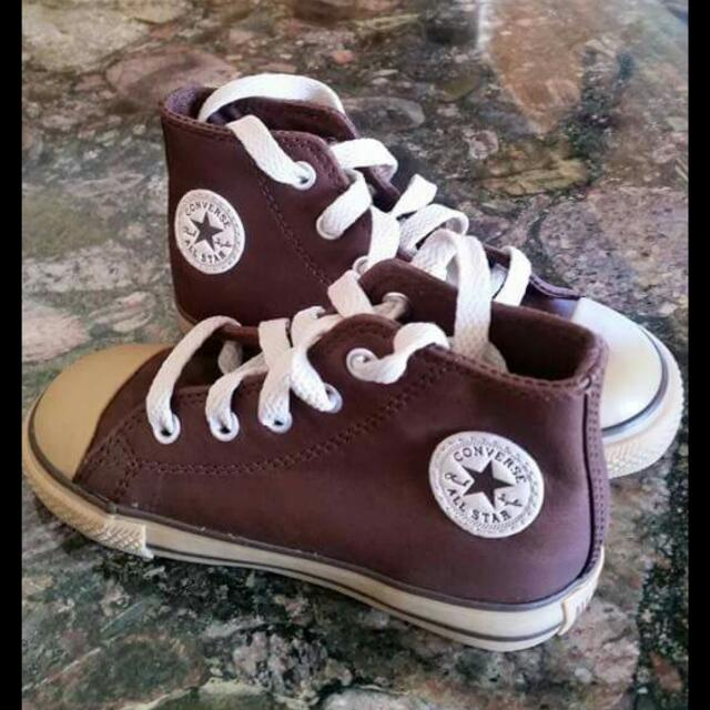 Genuine Converse Full Leather