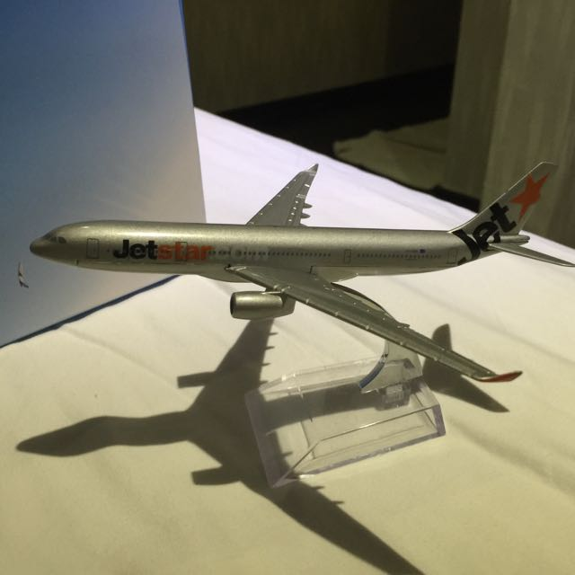 Jet Star 飛機模型  合金