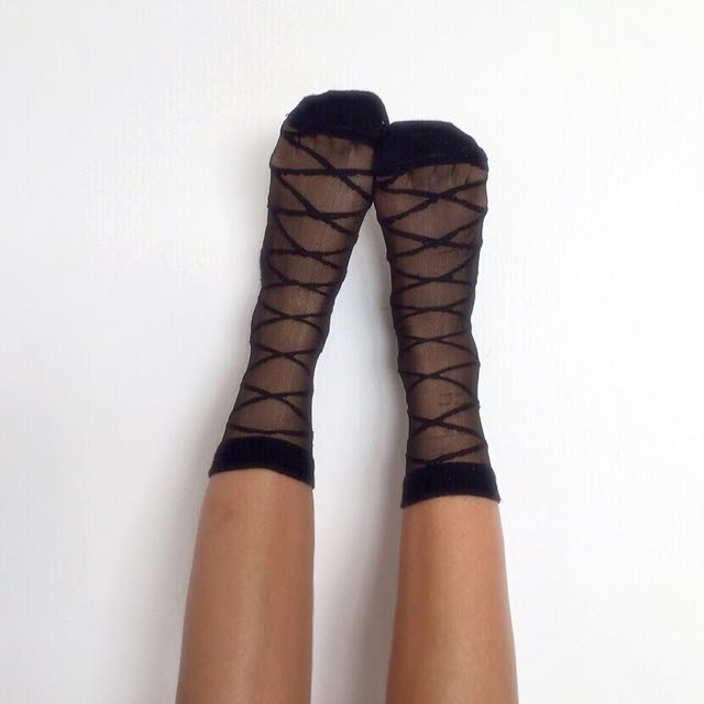 Pending - Lace Up Socks ♡👯