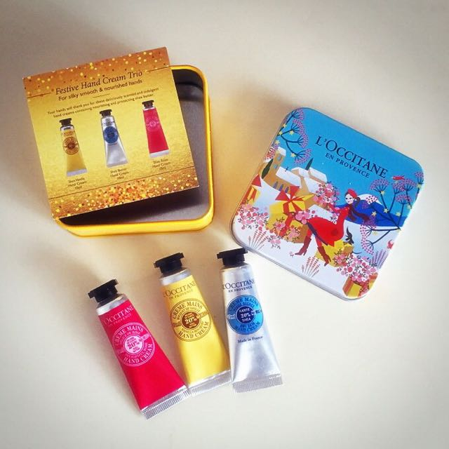 Pending - L'occitane Mini Hand Cream Set