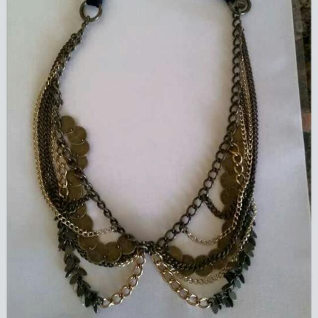 Mimco Head Piece/necklace