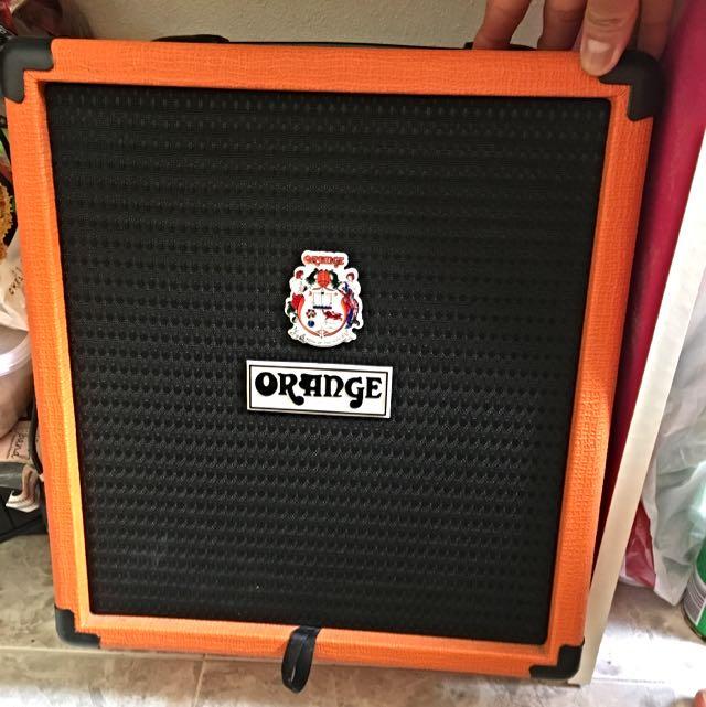 Orange Crush 25BX bass Amplifier