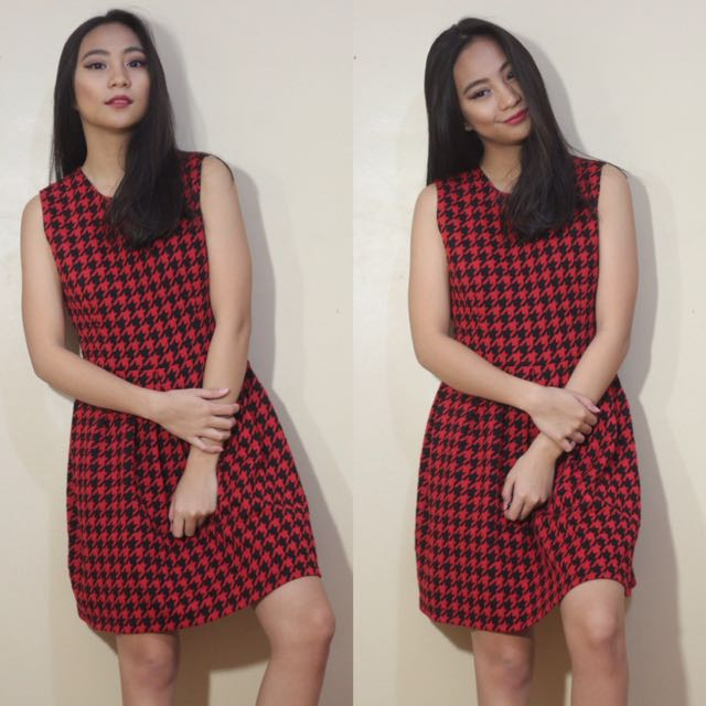 PICNIC Houndstooth Dress