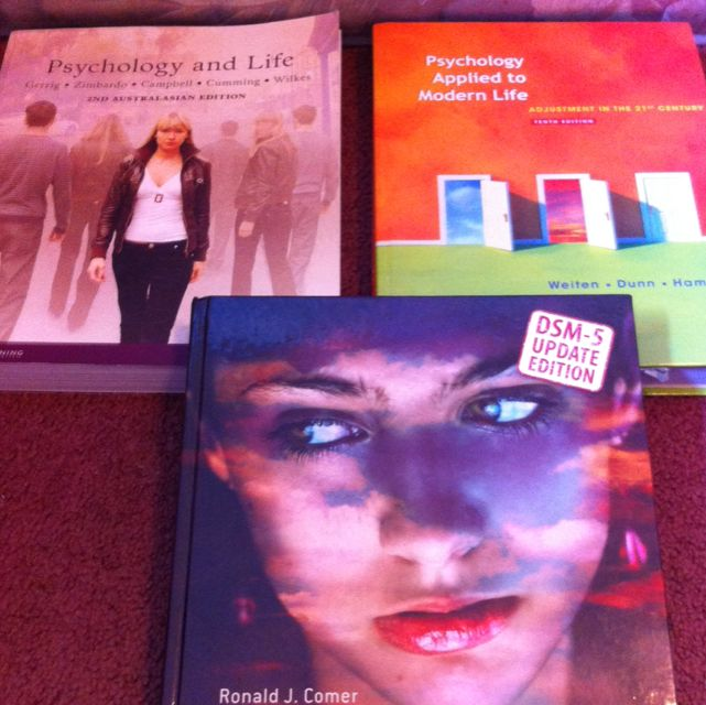 Psychology Behavioural Studies Textbooks