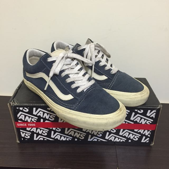 Vans Old Skool 麂皮