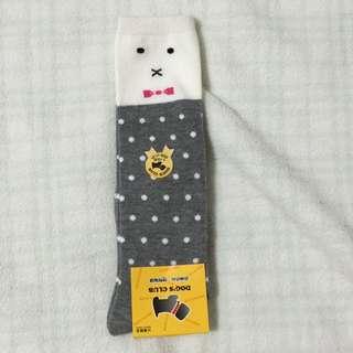 蝴蝶結半統童襪