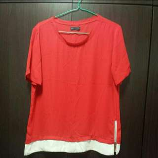 Red Blouse from SEED