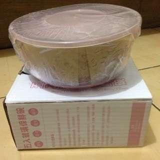 玻璃保鮮碗*5(粉色)
