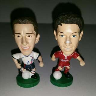 Original Corinthians Manchester United and Liverpool Figures (Neville and Fowler) - Neville SOLD!