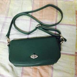 二手降價💕綠色小包包👝