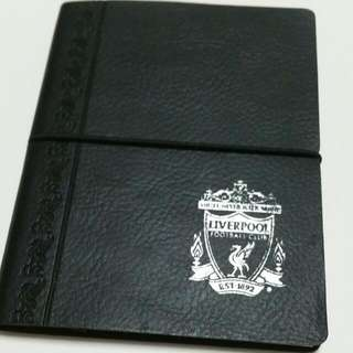 EXCLUSIVE OFFICIAL LIVERPOOL NOTEBOOK