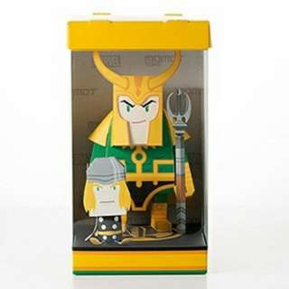 Avengers LOKI Momot Paper Toy - Build Yourself!