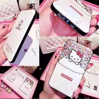 *Last piece RESERVED*! $18.90 CNY Valentine promo! Hello Kitty Power Bank, BRAND NEW FULL SET.