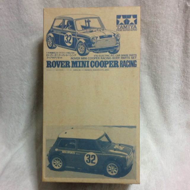 Tamiya 110 Rc Rover Mini Cooper Racing Body Shell Toys Games On