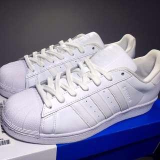 Adidas Originals Superstar 全白 B27136 男鞋