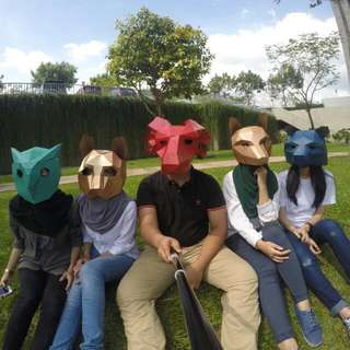 [Sold] Animal 3D Mask