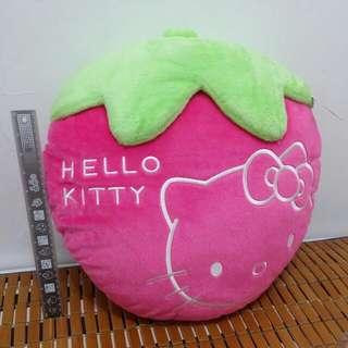 全新草莓kitty抱枕