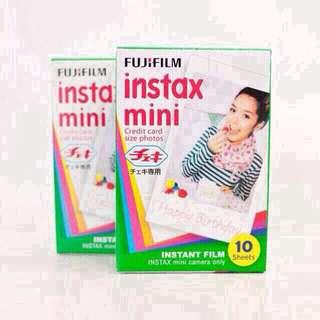 Instax Mini Plain Polaroid Film