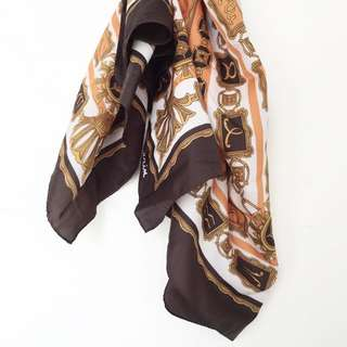 Hermes-Looking Scarf