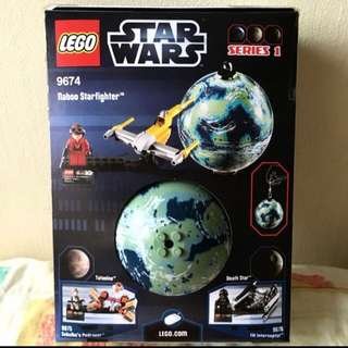 New STAR WARS Lego Naboo Podracer