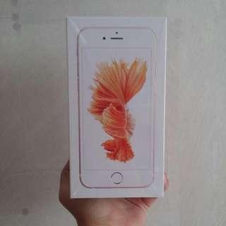 BNIB IPHONE 6S ROSE GOLD