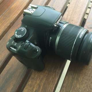 Canon 450D (Japanese Edition Kiss x2) with 18-55kit Lens & Tripod