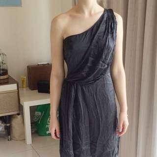 Silk Dress Size 8-10 Vintage