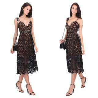 Labellavita Crochet Dress (M)