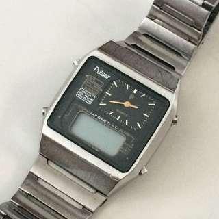 Vintage Seiko Pulsar LCD Watch #IDoTrades