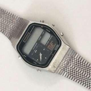 Vintage 1979 Citizen LCD Digi Ana Watch #IDoTrades