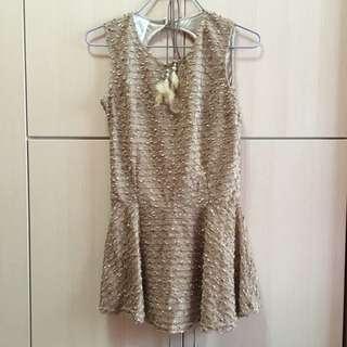 Back Cut-out Dress
