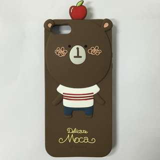 momo's blog 巧克力熊手機軟殼 IPHONE 5