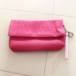 Brand New Pink Clutch Bag From Harbour City Hong Kong
