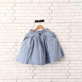 Cotton On High Waist Denim Midi Skirt